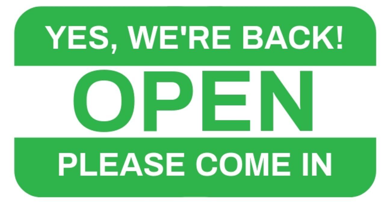 we're-back-open-sign-template-design-1712b29c3b1193e07f94b550771f251e_screen